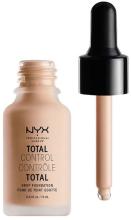Духи, Парфюмерия, косметика РАСПРОДАЖА Стойкая тональная основа - NYX Professional Makeup Total Control Drop Foundation *