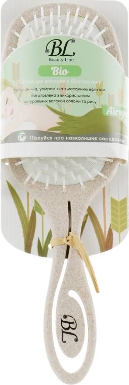 Щетка для волос из биопластика, 417004 - Beauty Line