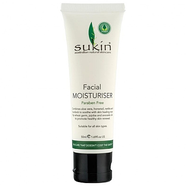 Увлажняющий крем для лица - Sukin Facial Moisturiser Travel Size