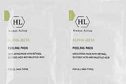 Духи, Парфюмерия, косметика Отшелушивающие очищающие салфетки для всех типов кожи - Holy Land Cosmetics Alpha-Beta & Retinol Peeling Pads