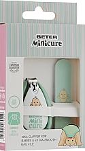 Духи, Парфюмерия, косметика Маникюрный набор детский, мятный - Beter Mini-Cure