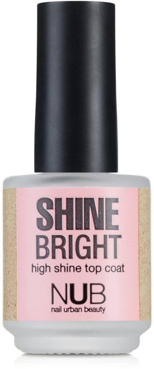 Закрепитель для лака - NUB Shine Bright