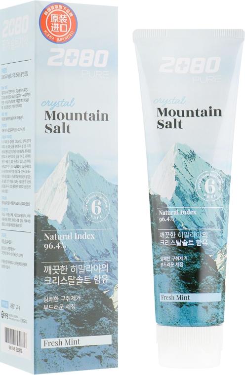 Зубная паста c гималайской солью - Aekyung 2080 Pure Crystal Mountain Salt Toothpaste