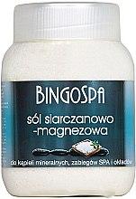 Духи, Парфюмерия, косметика Соль для ванны с сульфатом магния - BingoSpa Salt And Magnesium Sulphate