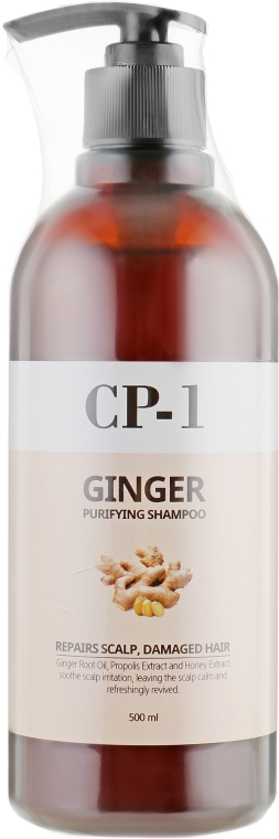 Шампунь для волос - Esthetic House CP-1 Ginger Purifying Shampoo