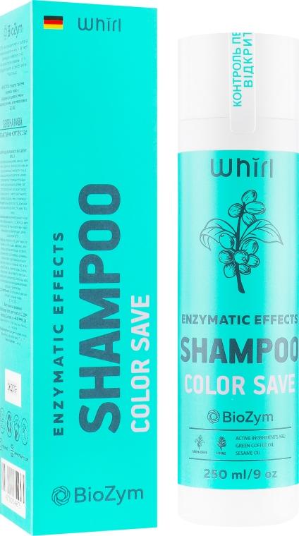 Шампунь для окрашенных и поврежденных волос - Whirl Enzymatic Effects Shampoo Color Save