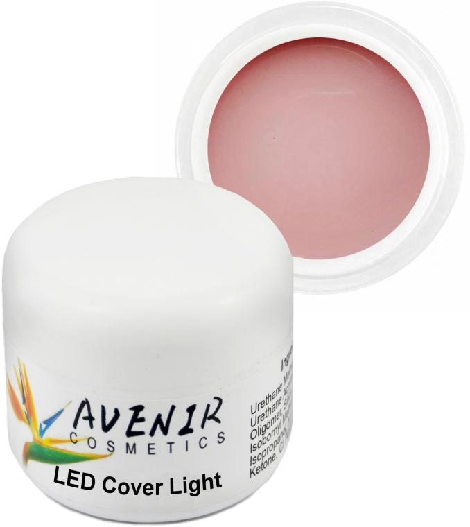 Гель для наращивания камуфляжный - Avenir Cosmetics LED Cover Light Gel