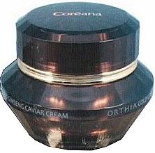 Духи, Парфюмерия, косметика Омолаживающий крем для лица - Coreana Orthia Gold Ginseng Caviar Crem