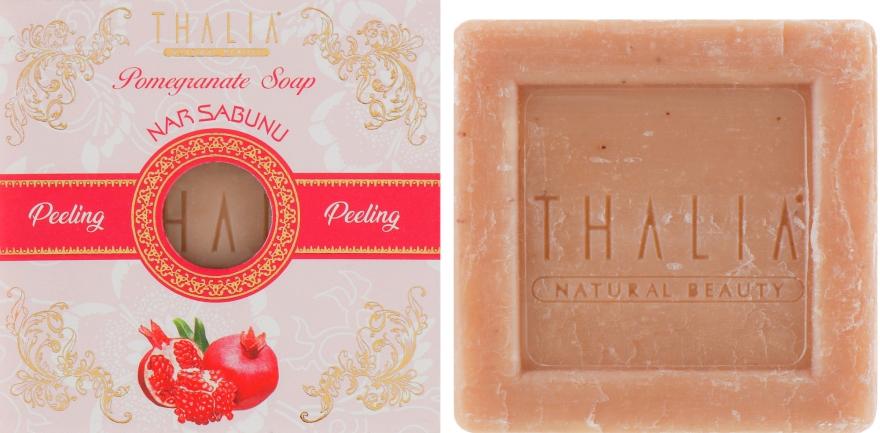 Гранатовое мыло-скраб - Thalia Pomegranate Soap