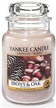 """Духи, Парфюмерия, косметика Ароматическая свеча """"Дуб и черное дерево"""" - Yankee Candle Ebony and Oak"""