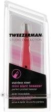 Духи, Парфюмерия, косметика Пинцет косметический - Tweezerman Mini Stainless Steel Slant Tweezer
