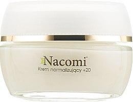 Дневной крем для лица - Nacomi Normalizing Cream 20+ — фото N2