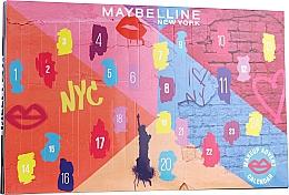 "Духи, Парфюмерия, косметика Набор ""Адвент-календарь 2020"" - Maybelline Advent Calendar 2020"
