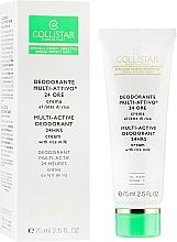 Духи, Парфюмерия, косметика Мультиактивный крем-дезодорант - Collistar Multi-Active Deodorant 24 Hours Cream