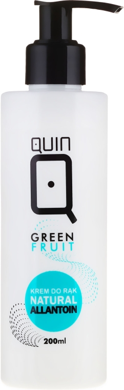 Крем для рук - Silcare Quin Natural Allantoin Green Apple Hand Cream