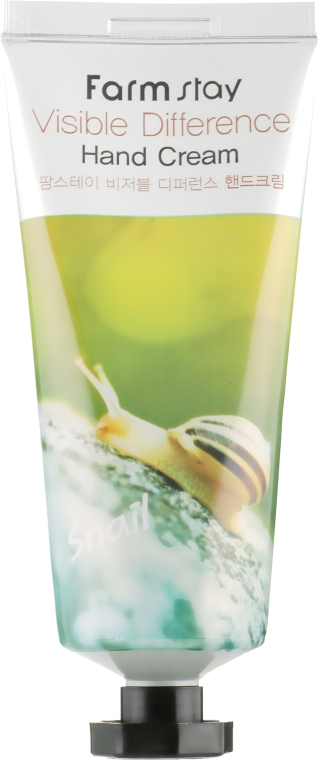 Крем для рук - FarmStay Visible Difference Hand Cream Snail — фото N2
