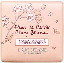 "Духи, Парфюмерия, косметика Мыло ""Вишнёвый Цвет"" - L'Occitane Cherry Blossom Perfumed Soap"