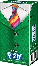"""Парфумерія, косметика Презервативи """"Color"""", кольорові ароматизовані, 12 шт - Vizit"""