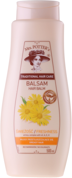 Бальзам для волос - Mrs. Potter's Freshness And Lightness Balsam Conditioner