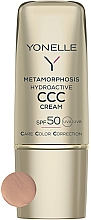 Духи, Парфюмерия, косметика Матирующий крем для лица SPF50 - Yonelle Metamorphosis Hydroactive CCC Cream SPF50