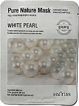 """Духи, Парфюмерия, косметика Тканевая маска для лица """"Жемчуг"""" - Secriss Pure Nature White Pearl Mask"""