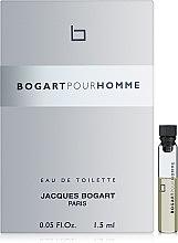 Духи, Парфюмерия, косметика Bogart Pour Homme - Туалетная вода (пробник)