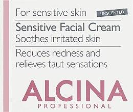 Духи, Парфюмерия, косметика УЦЕНКА Крем для чувствительной кожи лица - Alcina S Sensitive Facial Cream *