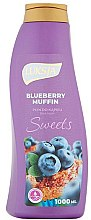 Духи, Парфюмерия, косметика Пена для ванны - Luksja Sweets Blueberry Muffin Bath Foam