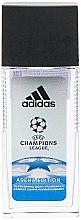Парфумерія, косметика Adidas UEFA Champions League Arena Edition - Парфумований дезодорант