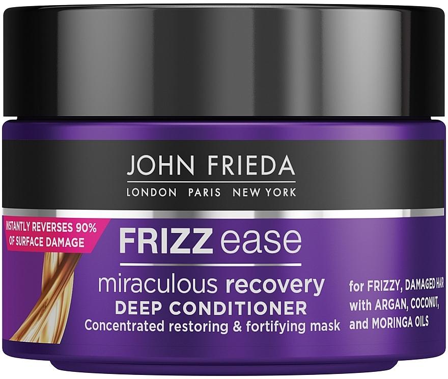 Маска для интенсивного ухода за непослушными волосами - John Frieda Frizz-Ease Miraculous Recovery Deep Conditioner
