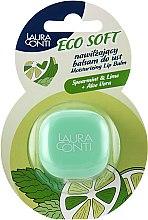 """Духи, Парфюмерия, косметика Бальзам для губ """"Лимон с мятой"""" - Laura Conti Ecosoft Moisturizing Lip Balm"""