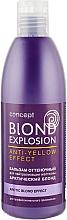 Парфумерія, косметика Відтіночний бальзам для нейтралізації жовтизни ефект - Concept Blond Explosion