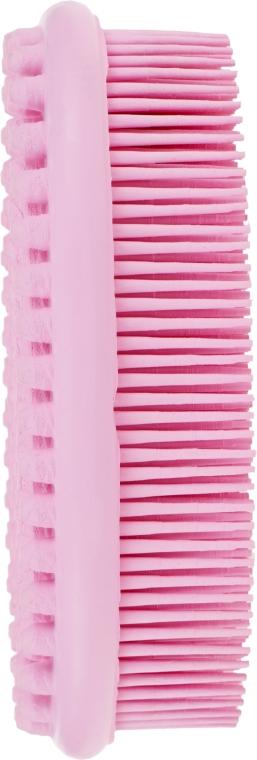 Массажная щетка для тела, 04591, розовая - Eurostil