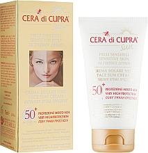 Духи, Парфюмерия, косметика Солнцезащитный крем - Cera di Cupra Sunscreen Face Cream SPF 50