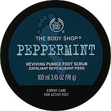 "Духи, Парфюмерия, косметика Скраб для ног с пемзой ""Перечная мята"" - The Body Shop Peppermint Reviving Pumice Foot Scrub"
