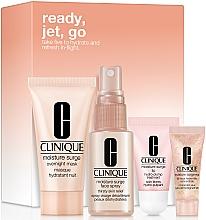 Духи, Парфюмерия, косметика Набор - Clinique Ready, Jet, Go (f/spray/30ml + lip/balm/7ml + mask/30ml + eye/gel/5ml)