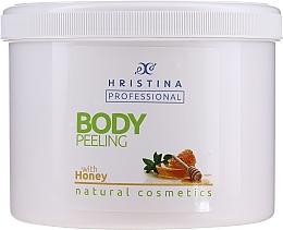 "Духи, Парфюмерия, косметика Скраб для тела ""Мед"" - Hristina Professional Honey Body Peeling"