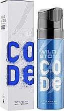 Духи, Парфюмерия, косметика Парфюмированный спрей для тела - Wild Stone Code Titanium