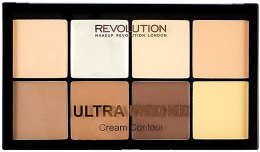 Парфумерія, косметика Палетка для контурингу - Makeup Revolution Ultra HD Pro Cream Contour