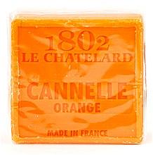 "Духи, Парфюмерия, косметика Мыло натуральное ""Корица и апельсин"" - Le Chatelard 1802 Soap Cinnamon Orange"