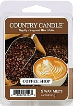 Духи, Парфюмерия, косметика Воск для аромалампы - Country Candle Coffee Shop Wax Melts
