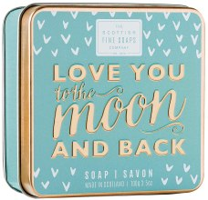 "Духи, Парфюмерия, косметика Мыло ""Люблю тебя до луны и обратно"" - Scottish Fine Soaps Love You To The Moon And Back Soap In A Tin"