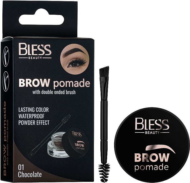 Помада для бровей - Bless Beauty Brow Pomade