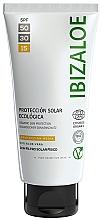 Духи, Парфюмерия, косметика Солнцезащитный крем - Ibizaloe Organic Sun Protection SPF 15