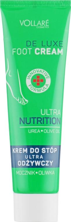 Крем для ног - Vollare Cosmetics De Luxe Ultra Nutrition Oile&Urea Foot Cream