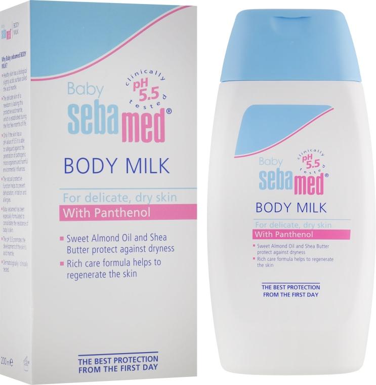 Молочко для тела детское - Sebamed Baby Body Milk