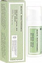Духи, Парфюмерия, косметика Ночной крем для лица с экстрактом эдельвейса - Beaute Mediterranea Edelweiss Facial Bio Night Cream