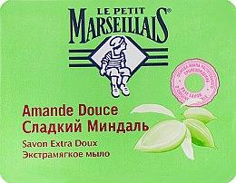 Духи, Парфюмерия, косметика Экстрамягкое мыло «Сладкий Миндаль» - Le Petit Marseillais Savon Extra Doux Amande Douce