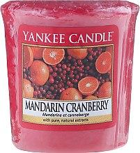 """Духи, Парфюмерия, косметика Ароматическая свеча """"Мандарин и клюква"""" - Yankee Candle Scented Votive Mandarin Cranberry"""