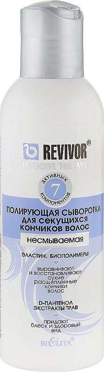 Сыворотка полирующая для секущихся волос - Bielita Revivor Intensive Therapy